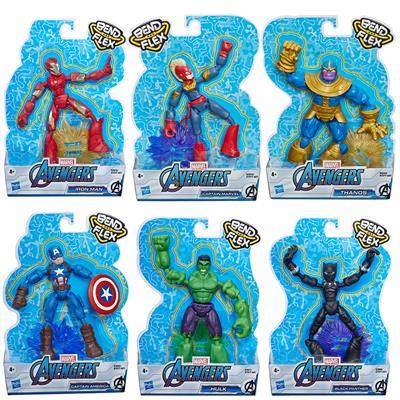 Hasbro Avengers Bend And Flex Avengers Asst (E7377)