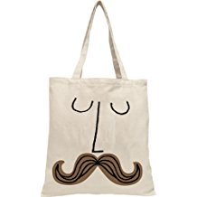 Mustache Face A BabyLit® Tote