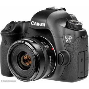 Canon EOS 6D Mark II 24-105mm f/4L IS II USM Lens, 26.2 MP DSLR Camera, Black