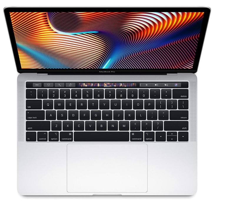 Apple Macbook Pro Touch Bar (2019) (Silver ) - 13 inch, i5 2.4 GHz Qua