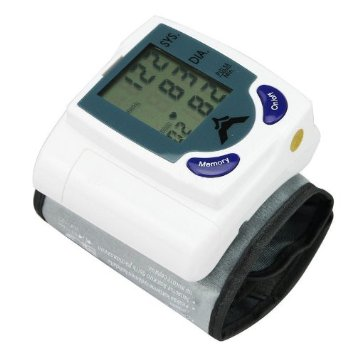 Automatic Wrist Blood Pressure Monitor With LCD Screen
